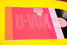 ULTRAVOX LP ORIG UK 1986 NM PLASTIC BAG TOP TOP RARE
