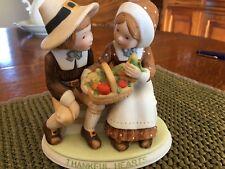 Holly Hobbie Thanksgiving Figurine