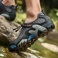 Men Outdoor Breathable Running Sports Hiking Walking Mesh Sandals Shoes Sneakers