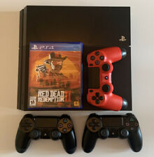 Sony PlayStation 4 500GB Console - CUH-1001A (LOT) 3 Controllers, 9 Games, +more