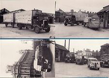 4 Lorry Bus Postcards ~ Ulster Pt 2: Scammell: Leyland - Billingham Motor Cards