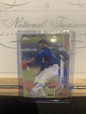 2020 Topps Pro Debut Josiah Gray /50 Dodgers Auto Rookie Tulsa Drillers RC
