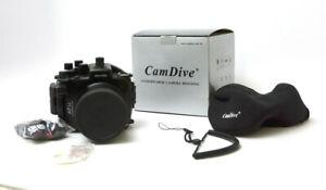 Meikon Underwater Camera Housing for Sony A7 II - Used w/ Accessorie,Box
