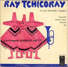 "RAY TCHICORAY ""MAMBO TARZAN"" LATIN JAZZ 50'S EP VEGA 1760"