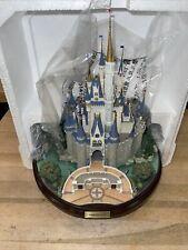 Disney Parks Olszewski Cinderella Castle Attraction Figure Statue Rare Sold Out!