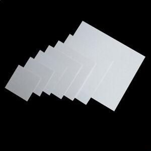 0.5-20mm Thick Alumina Aluminum Oxide Ceramic Plate Sheet 17.5 - 240mm Size Lot