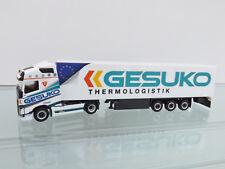 """Herpa 307994 H0 1:87 - VOLVO FH GL. semirremolque Refrigerado """"gesuko"""" -"""