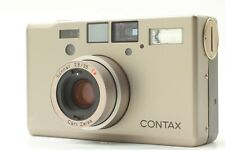"""【 MINT 】Contax T3 D  """"Double Teeth"""" Titanium Silver 35mm Film Camera  from JAPAN"""