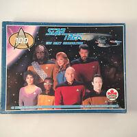 Star Trek The Next Generation Jigsaw Puzzle 100 pc 30810 2 VTG Picard Data