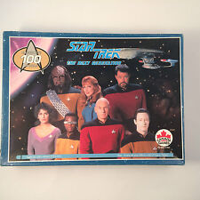 Star Trek The Next Generation Jigsaw Puzzle 100 pc #30810-2 VTG