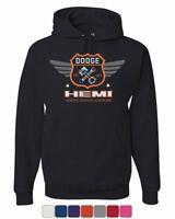 Dodge Hemi Garage Hoodie American Classic Muscle Sports Cars Sweatshirt