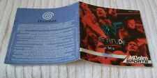 SEGA DREAMCAST INSTRUCTION/MANUAL BOOKLET  ** WWF ATTITUDE **  USED CONDITION