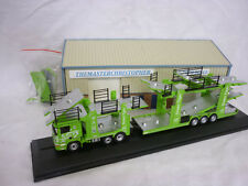 Oxford Diecast/Modern 1:76th Truck Scania Car Transporter Green Tiger 76SCT004