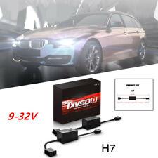 Black H7 LED Error Free Anti Flicker Resistor Canceller Decoder HID Headlight