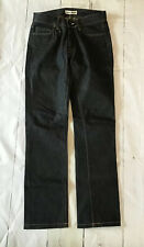Acne Mic Rigid Denim Jeans 27 x 34 Dark Wash