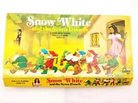 Snow White and the Seven Dwarfs Story Board Game Vintage 1977 Cadaco Disney USA