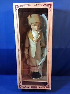 "Steiff Felt Doll 18"" Tennis Lady Betty, Replica LE of 3000, Made in Germany"