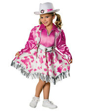 Girls Cowgirl Western Diva Rodeo Princess Costume