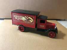 Anheuser-Busch-Inc 1931 Hawkeye Die-Cast Ertl , Coin Bank