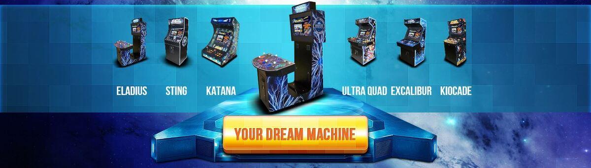 DreamAuthentics Video Game Arcade