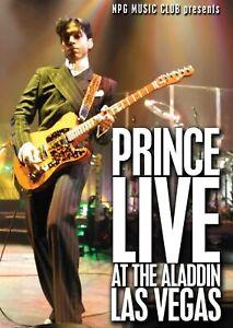 Prince Live At The ALADDIN Las Vegas (2003) 16-track DVD Neuf / Scellé
