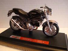 Ducati Monster S 4 schwarz   Maisto 1:18