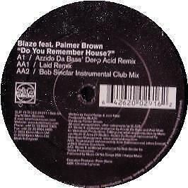 Blaze Feat Palmer Brown - Do You Remember House (Disc Ii) Slip 'N' Slide #86145