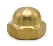 Brass Cap Acorn Hex Nuts - All Sizes & Qtys
