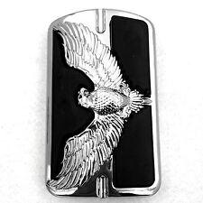 Eagle Emblem Chromed Willie G Foot Large Brake Pedal For Harley Touring