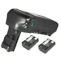 Vertical BG-E9 BGE9 Battery Grip For Canon Digital SLR EOS 60D + 2x LPE6 Battery