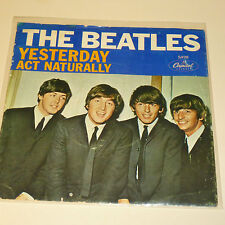 BEATLES 45RPM PICTURE SLEEVE ONLY - CAPITOL 5498