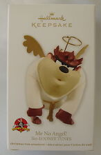 Hallmark 2012 Taz Tazmanian Devil Looney Tunes Me No Angel Christmas Ornament