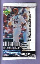 2001 Upper Deck Series 2 Baseball Hobby Pack From Box!