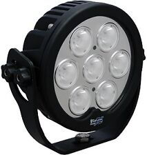 "Vision X Solstice Prime 6"" Black LED Light 20 Deg Beam - Seven 10-Watt LEDs"