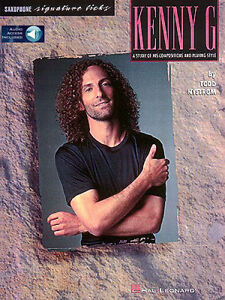 Best of Kenny G Signature Licks Sheet Music for Soprano and Tenor Sax 000673241