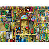1000 Piece Jigsaw Puzzle Ancient Bookshelf Educational Decompression Games Toys