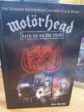 MOTORHEAD Keep Us on The Road BOOK By Alan Burridge (Lemmy,Fast Eddie,Philthy)