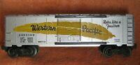 Lionel 6464-100 Western Pacific Boxcar - O27 Ga - Unrestored POSTWAR Type IIA
