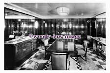 pu0937 - French CGT Liner - Normandie , built 1935 - interior photograph