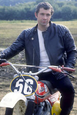 Lewis Collins Leather Jacket Sitting On Bike The Professionals 11x17 Mini Poster