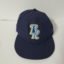 Men's New Era MILB Wilmington Blue Rocks  Fitted Baseball Cap Hat 7 1/2