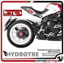 HP Corse Hydrotre exhaust black racing with carb MV Agusta Dragster 800