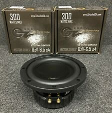 OZ AUDIO OZV-6.5 S4 VECTOR SERIES 6.5 INCH SUBWOOFER 4 OHMS 150 RMS/300 MAX