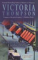 NEW Murder in Little Italy (A Gaslight Mystery) by Victoria Thompson