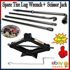 Replacement for Jack 2004-2013 Ford F150 Spare Tire Tool W/ Bag +2T Scissor Jack