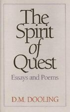 The Spirit of Quest: Essays and Poems Dooling, D. M. Hardcover