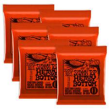 6 Sets! Ernie Ball Skinny Top Heavy Bottom Slinky Strings 2215 .010-.052