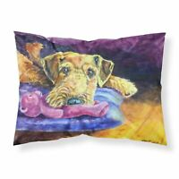Caroline/'s Treasures Corgi Cardinal Buddy Fabric Standard Pillowcase 7411PILL...