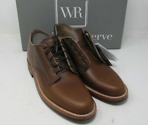 "Whites Boots, 1st avenue oxford. British tan. 10 B, 5 "", Dainite sole."