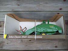 John Deere 1940 Combine Ertl 1/16 1940 John Deere 12A Combine 5601 New In Box